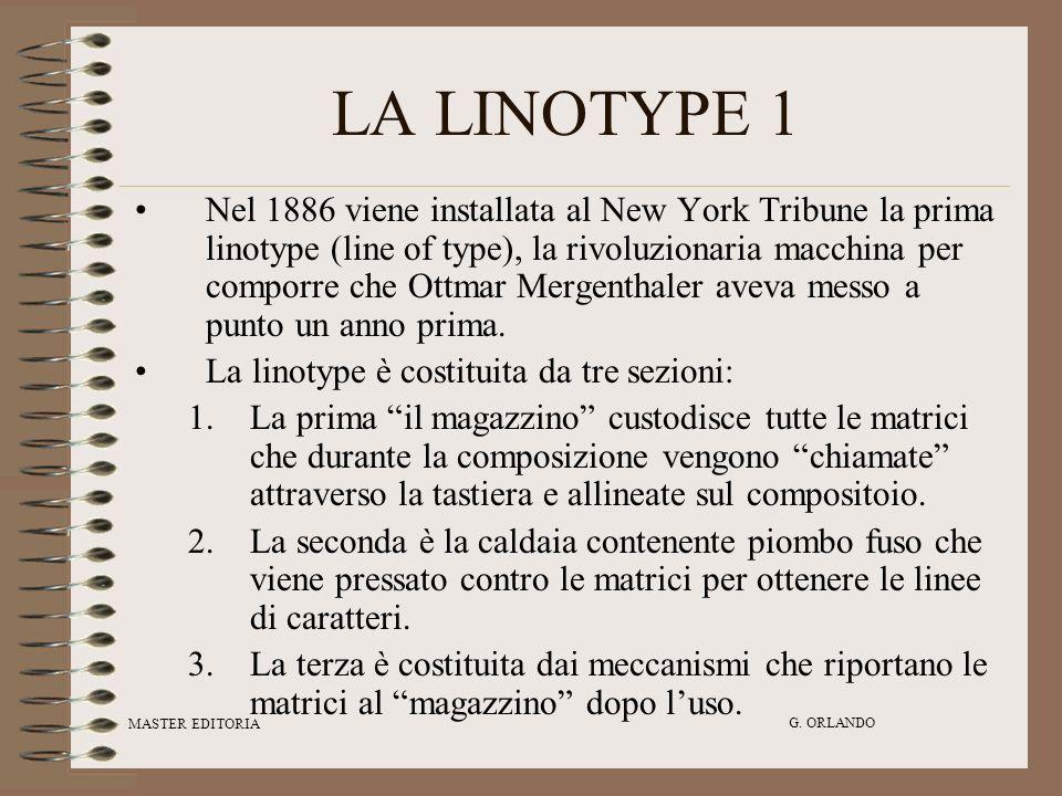 LA LINOTYPE 1