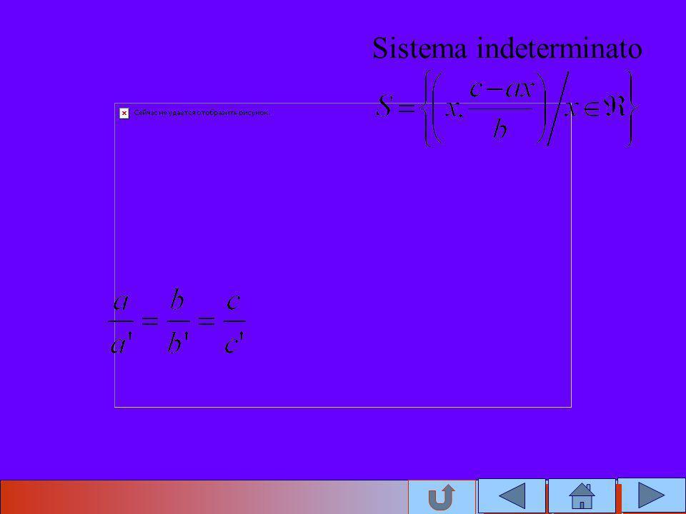 Sistema indeterminato