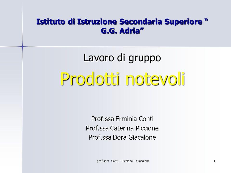 Istituto di Istruzione Secondaria Superiore G.G. Adria