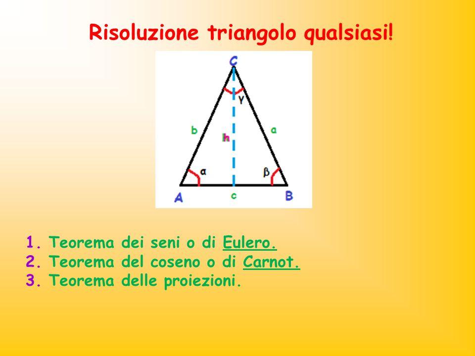 Risoluzione triangolo qualsiasi!
