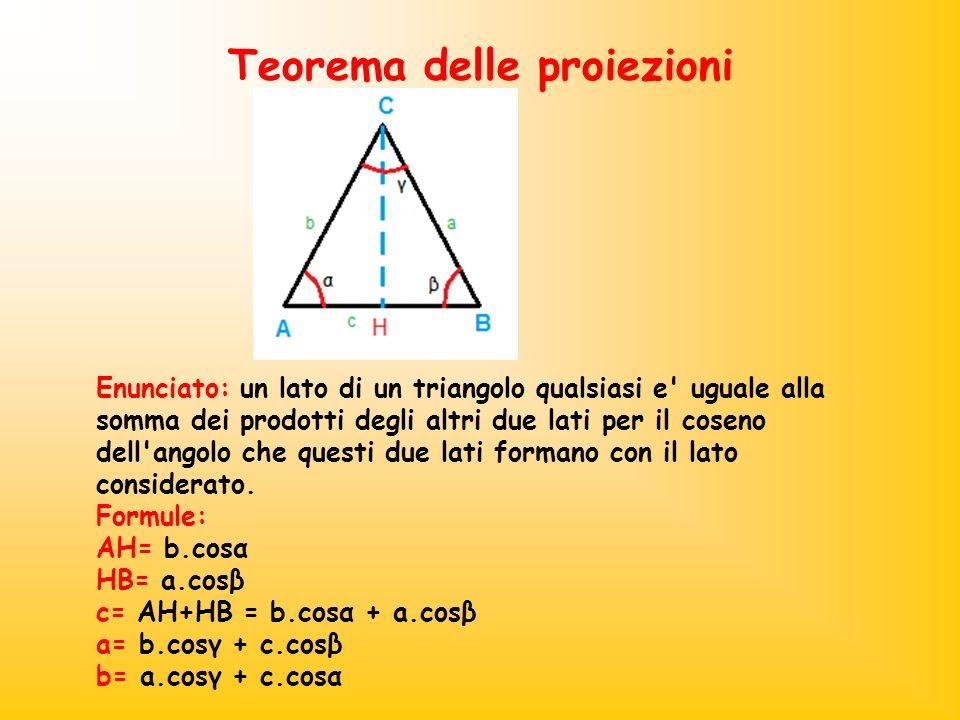 Teorema delle proiezioni