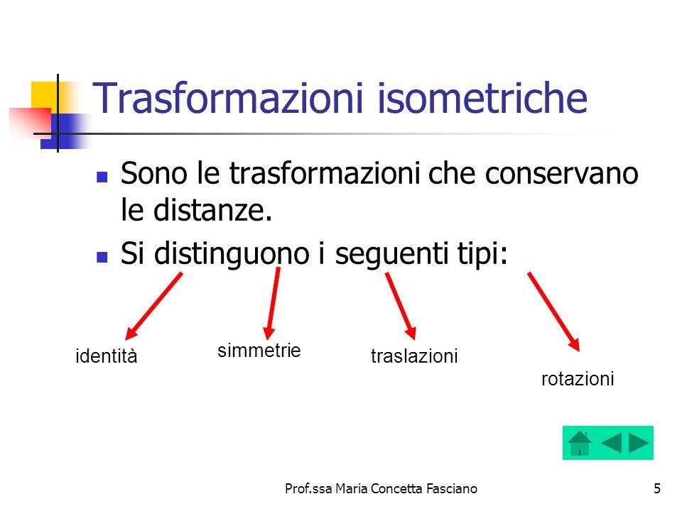 Trasformazioni isometriche