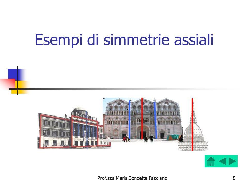 Esempi di simmetrie assiali