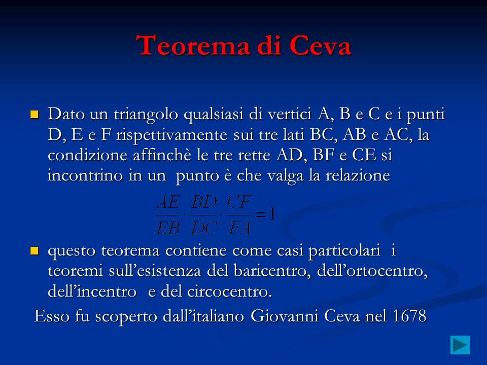 Teorema di Ceva