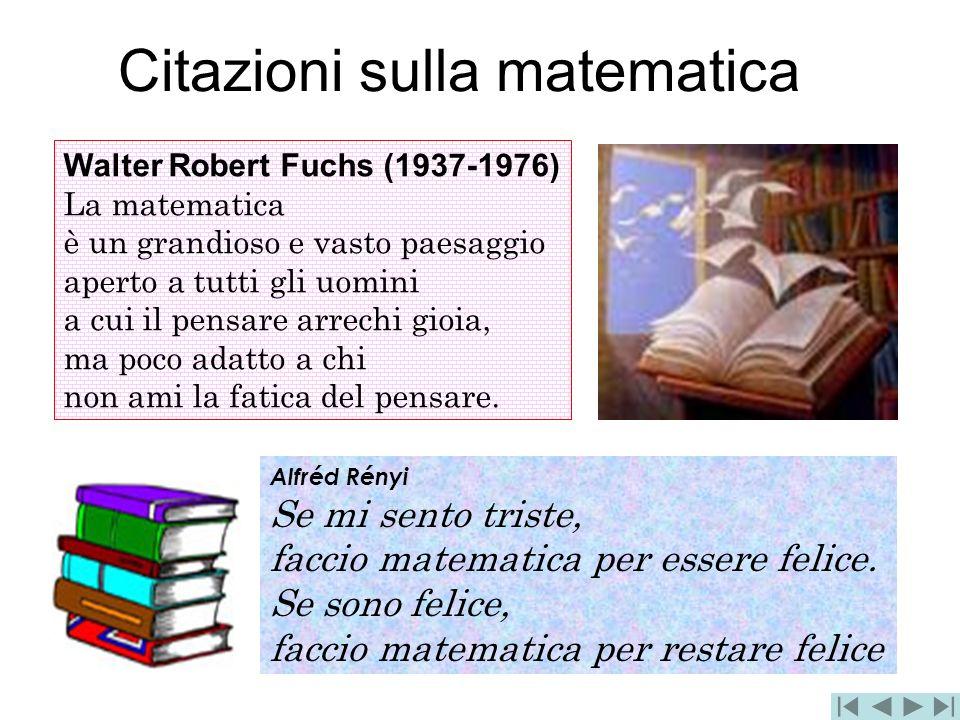 Citazioni sulla matematica