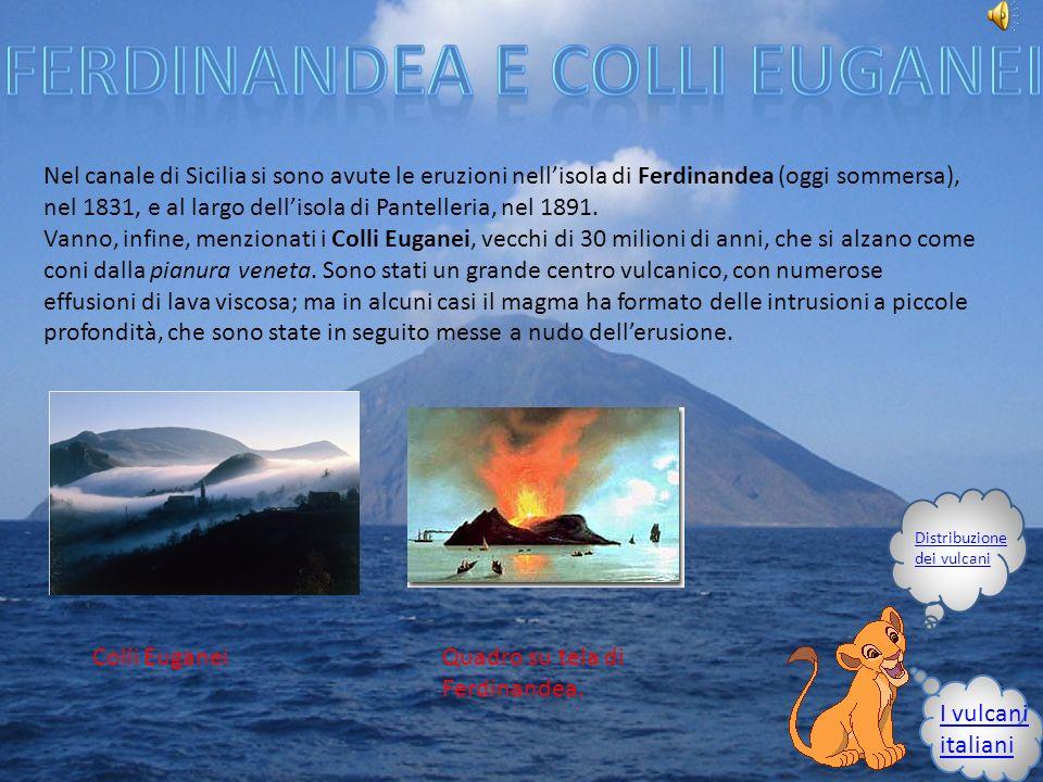 Ferdinandea e colli euganei