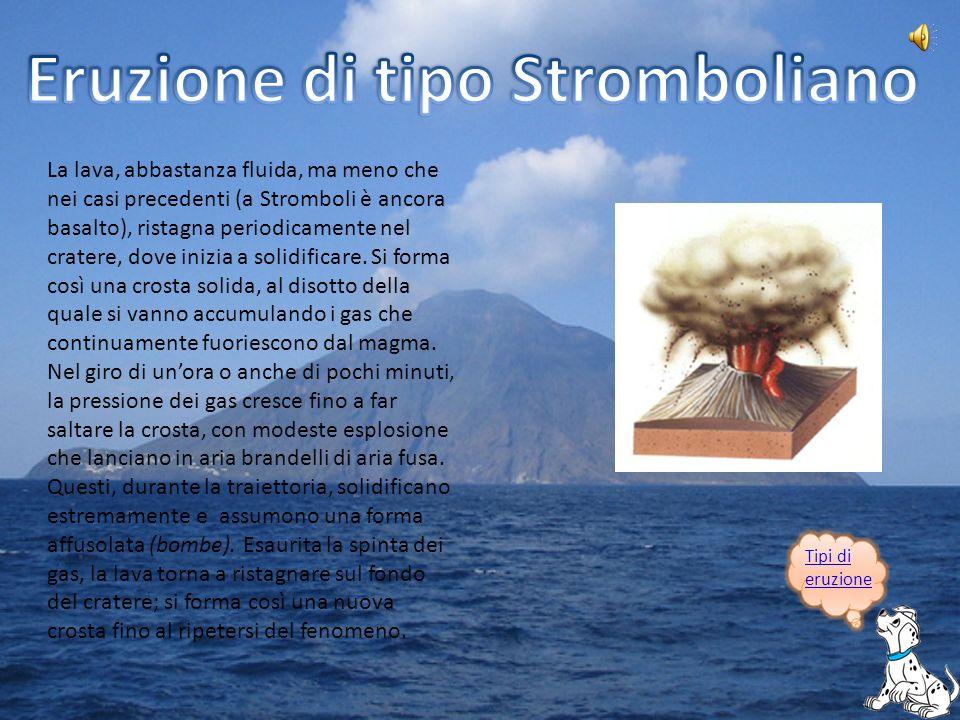 Eruzione di tipo Stromboliano