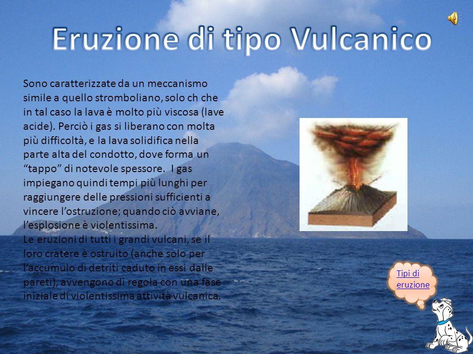 Eruzione di tipo Vulcanico