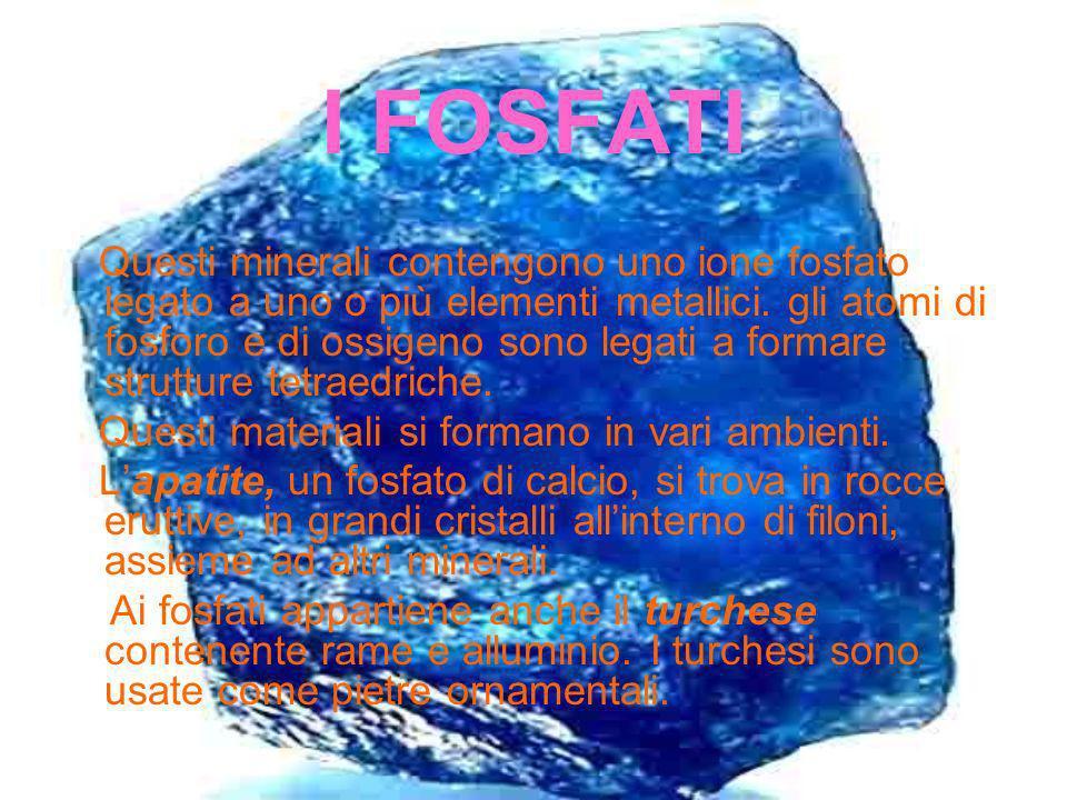 I FOSFATI