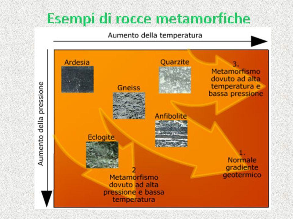 Esempi di rocce metamorfiche