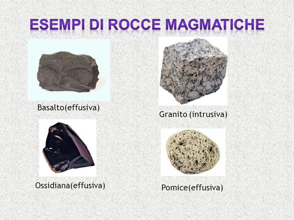 Esempi di rocce magmatiche