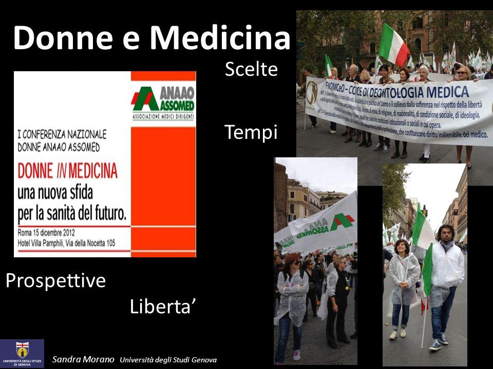Donne e Medicina Scelte Tempi Prospettive Liberta'