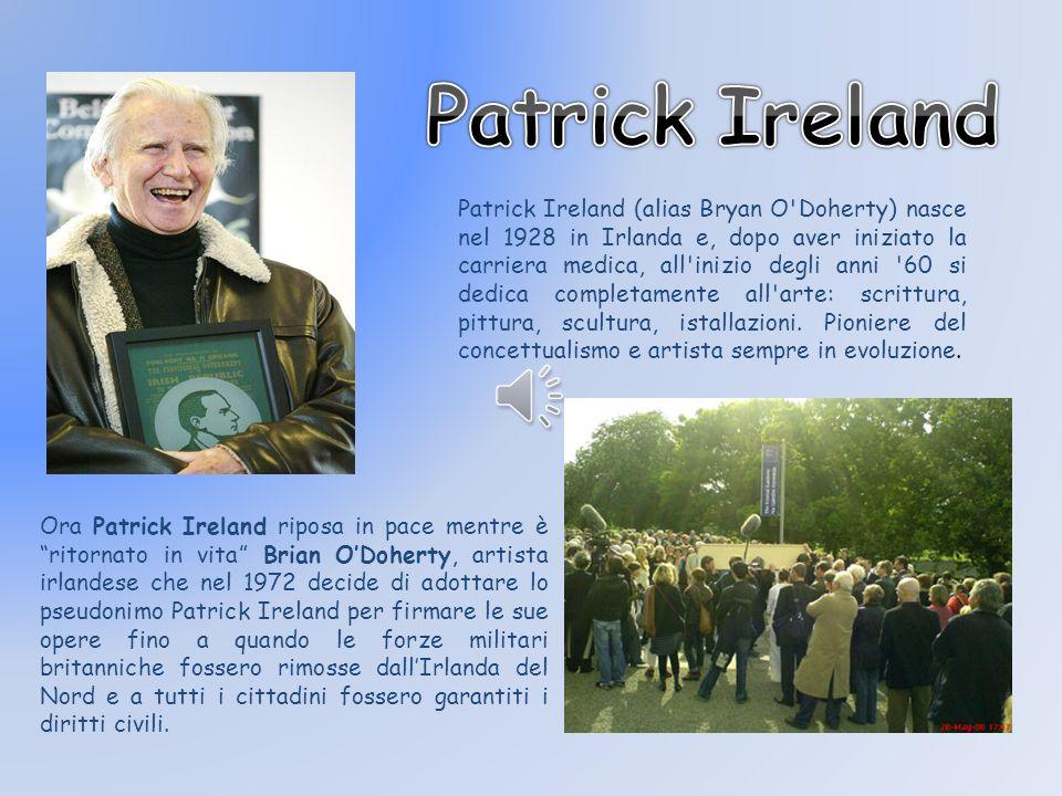 Patrick Ireland.