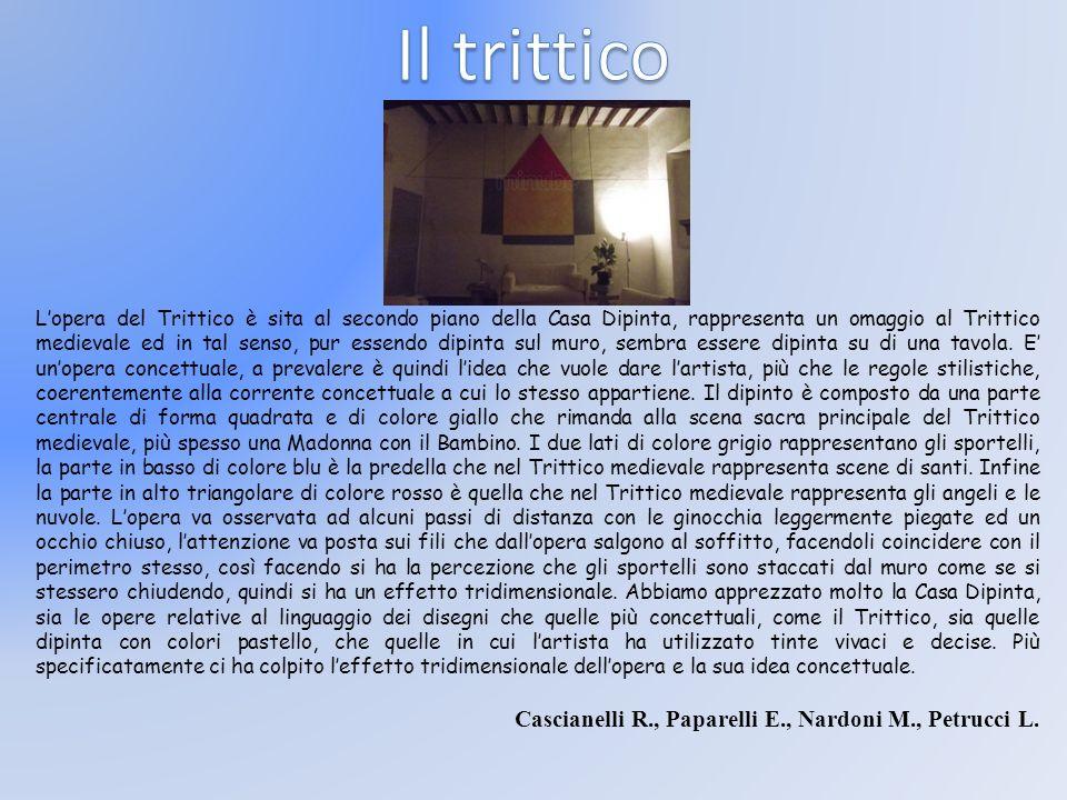 Il trittico Cascianelli R., Paparelli E., Nardoni M., Petrucci L.