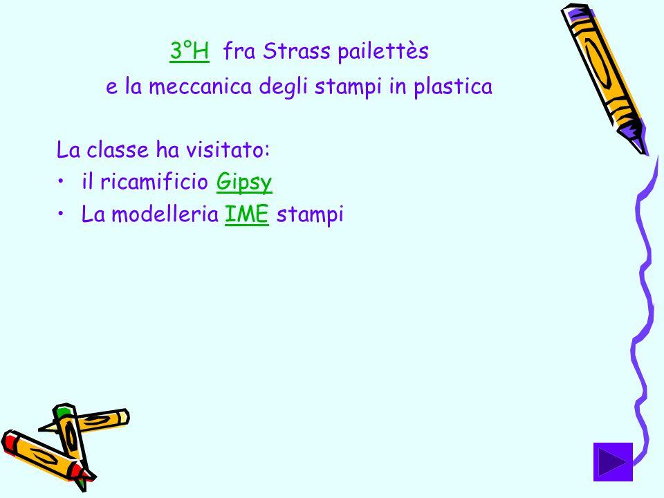 3°H fra Strass pailettès e la meccanica degli stampi in plastica
