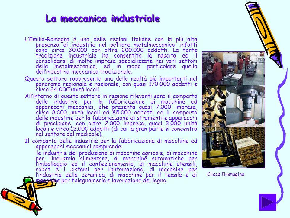 La meccanica industriale