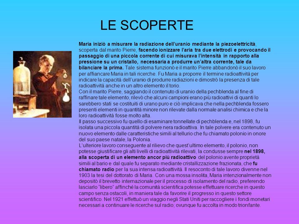 LE SCOPERTE