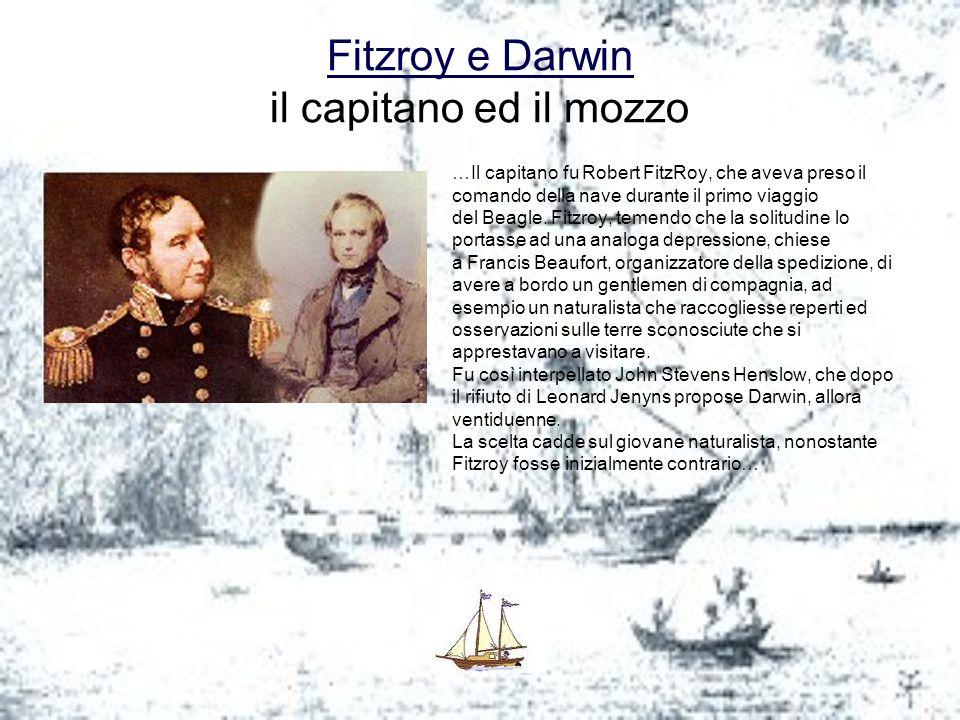 Fitzroy e Darwin il capitano ed il mozzo
