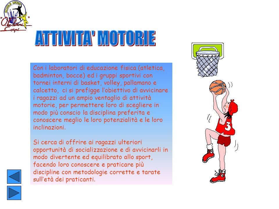 ATTIVITA MOTORIE