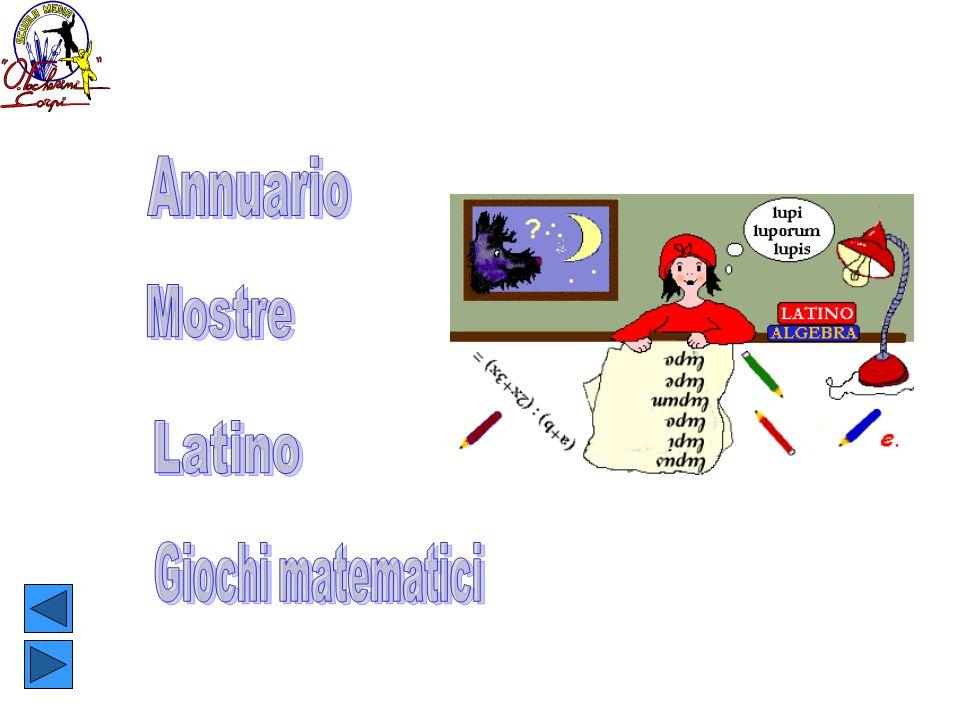 Annuario Mostre Latino Giochi matematici