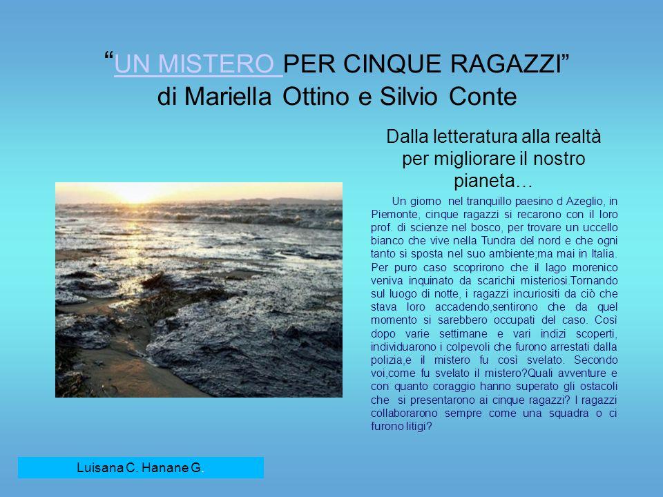 UN MISTERO PER CINQUE RAGAZZI di Mariella Ottino e Silvio Conte
