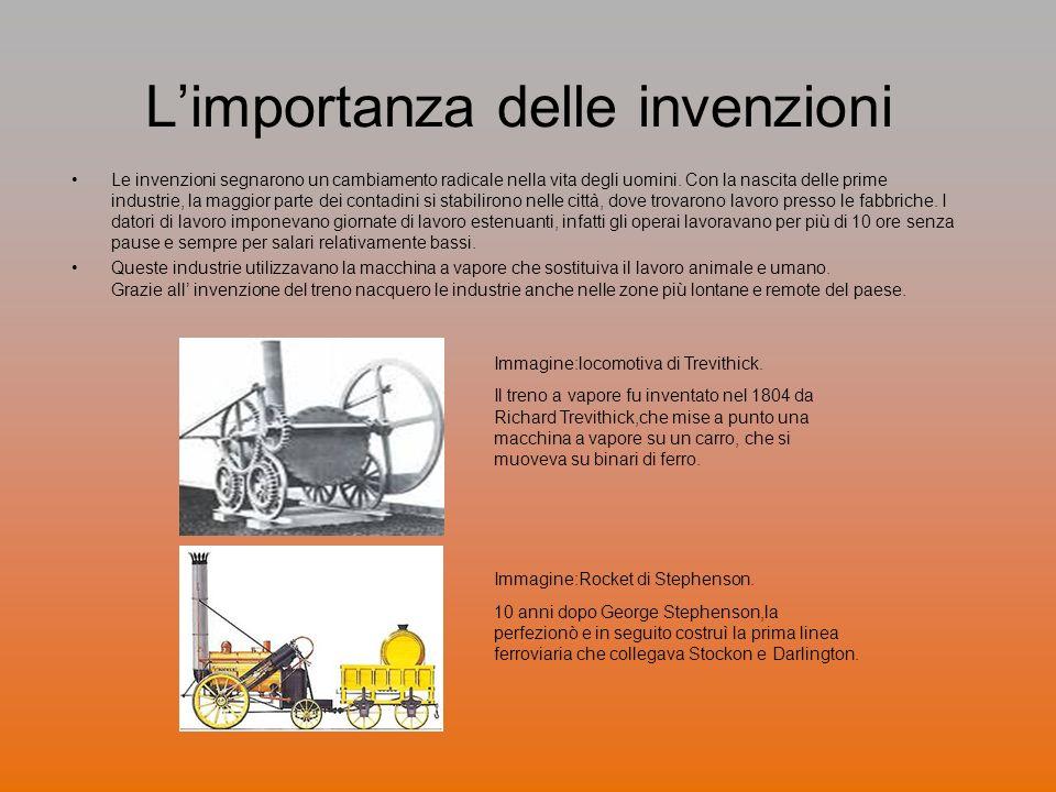 L'importanza delle invenzioni
