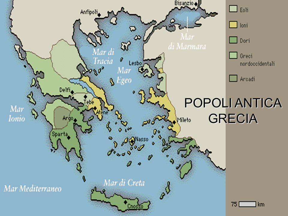 POPOLI ANTICA GRECIA