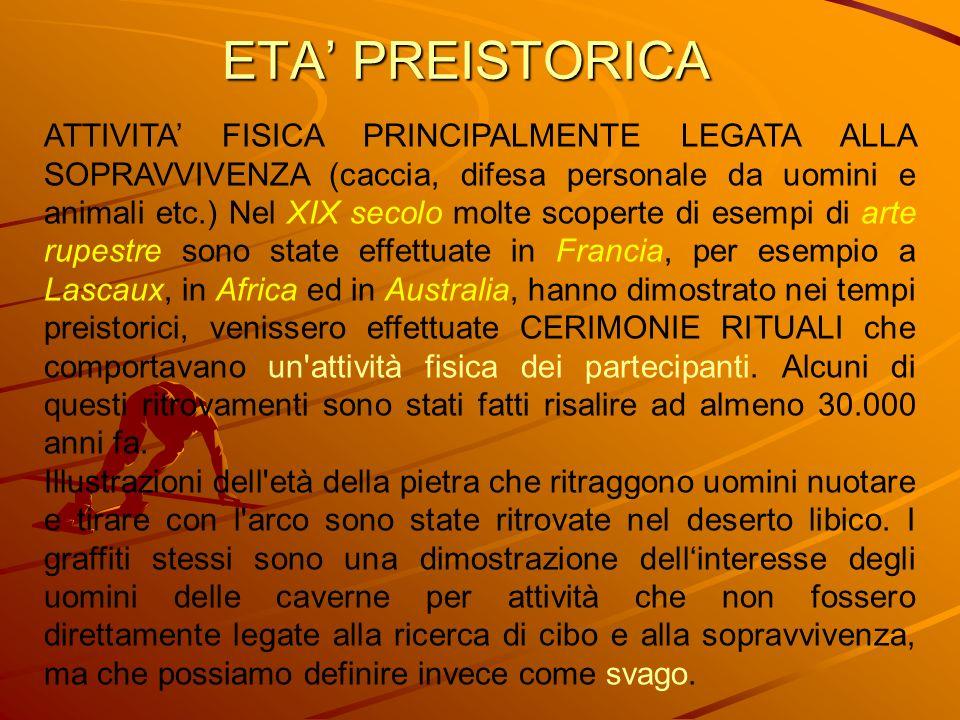 ETA' PREISTORICA