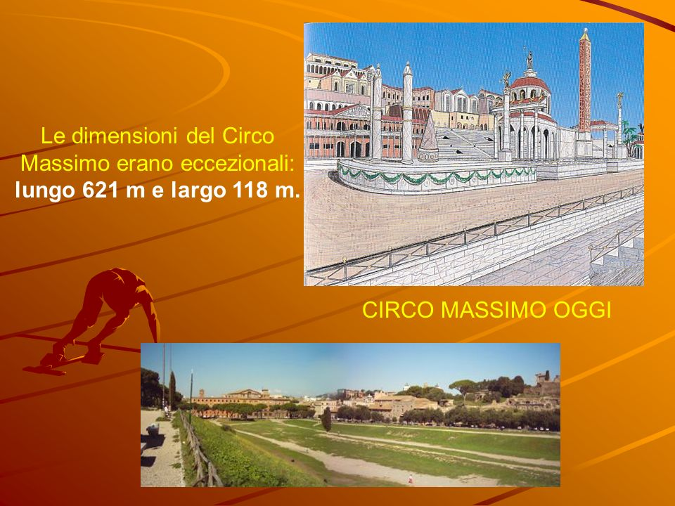 Le dimensioni del Circo Massimo erano eccezionali: