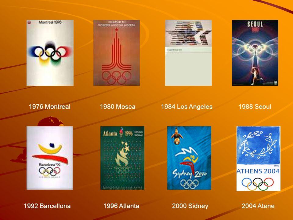 1976 Montreal 1980 Mosca. 1984 Los Angeles. 1988 Seoul. 1992 Barcellona. 1996 Atlanta. 2000 Sidney.