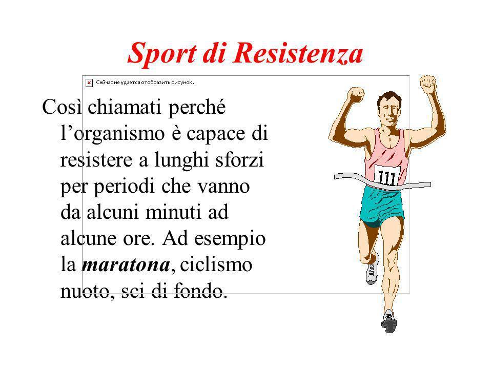 Sport di Resistenza
