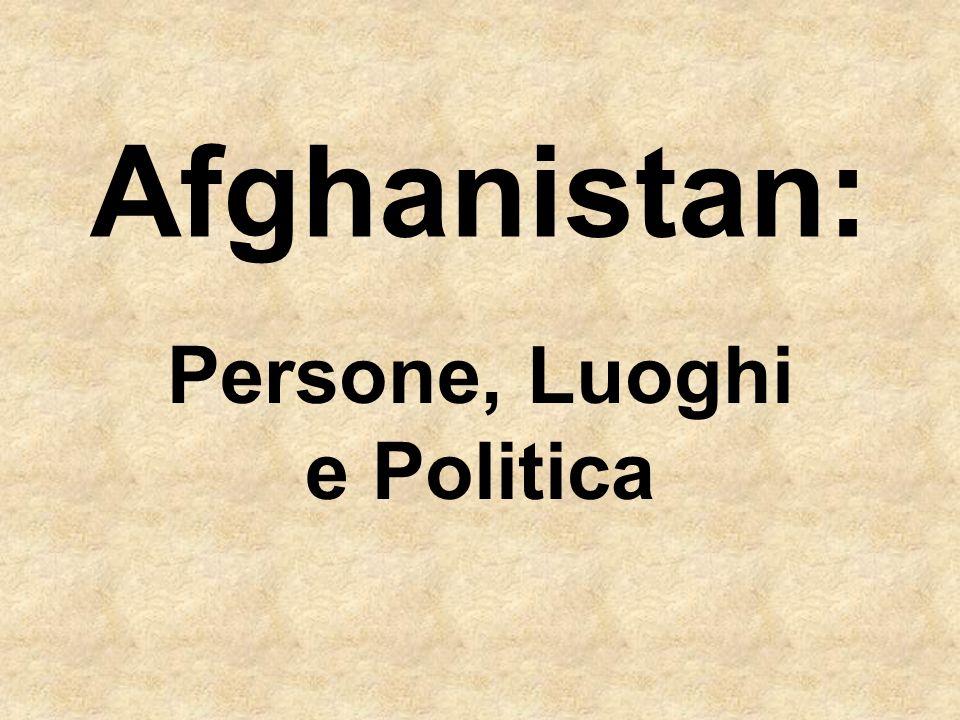 Persone, Luoghi e Politica