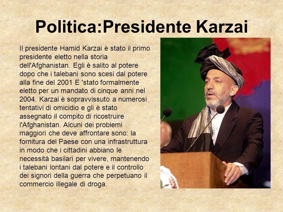 Politica:Presidente Karzai