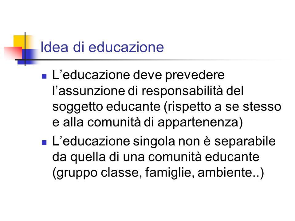 Idea di educazione