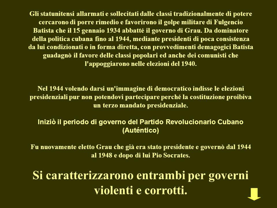Si caratterizzarono entrambi per governi violenti e corrotti.