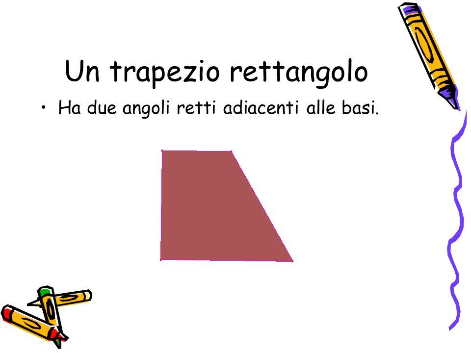 Un trapezio rettangolo