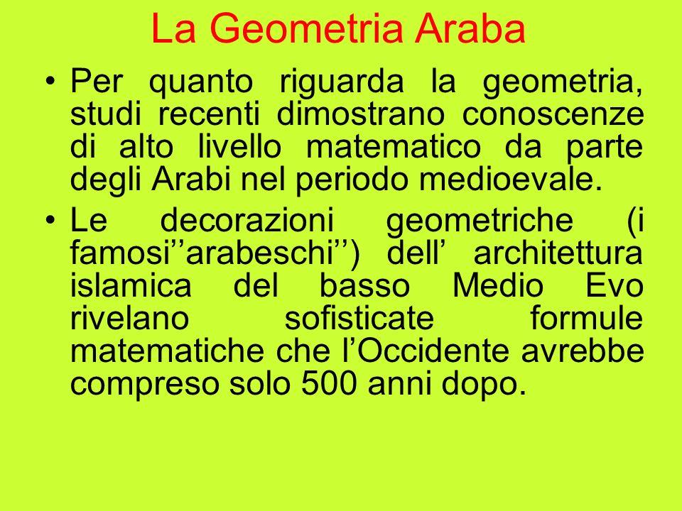 La Geometria Araba