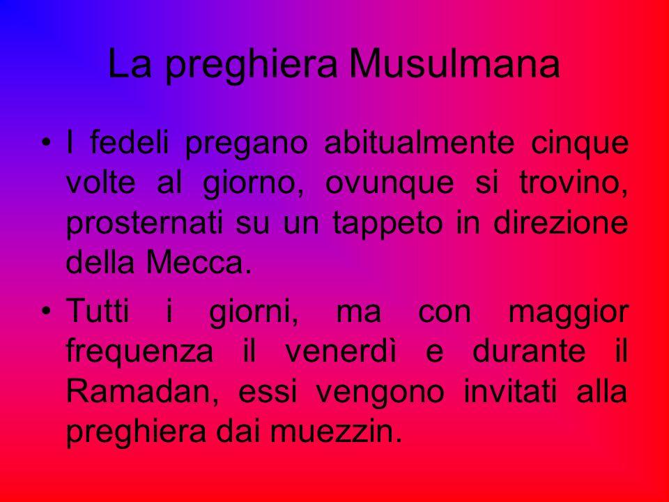 La preghiera Musulmana