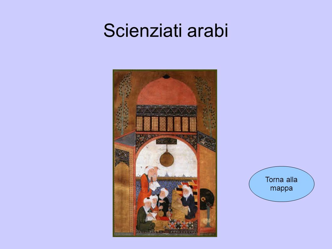 Scienziati arabi Torna alla mappa