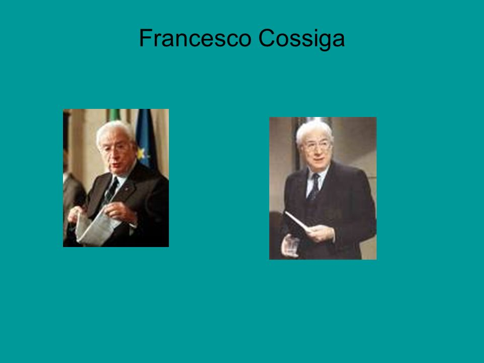 Francesco Cossiga