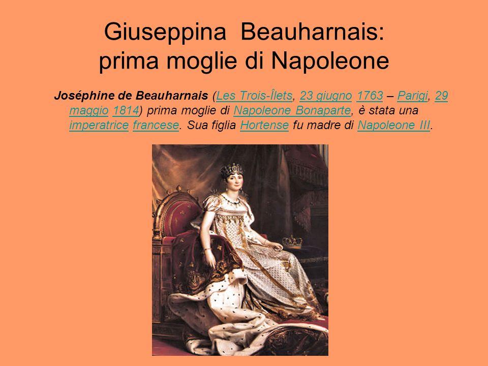 Giuseppina Beauharnais: prima moglie di Napoleone