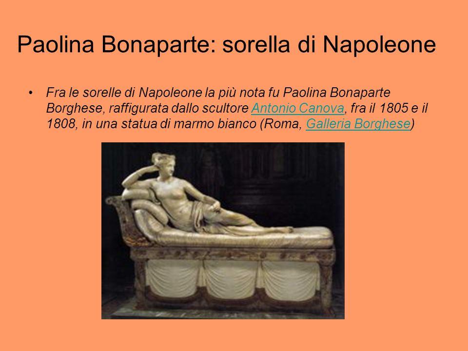 Paolina Bonaparte: sorella di Napoleone
