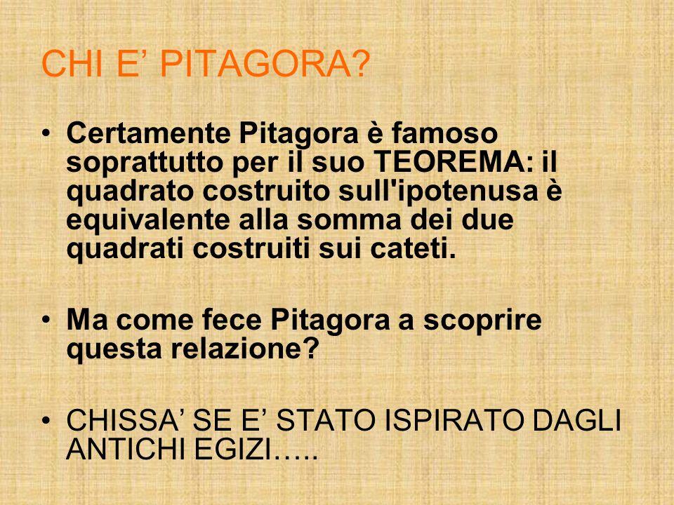 CHI E' PITAGORA