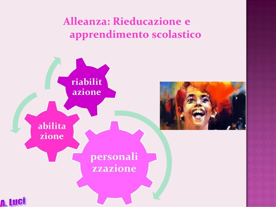Alleanza: Rieducazione e apprendimento scolastico
