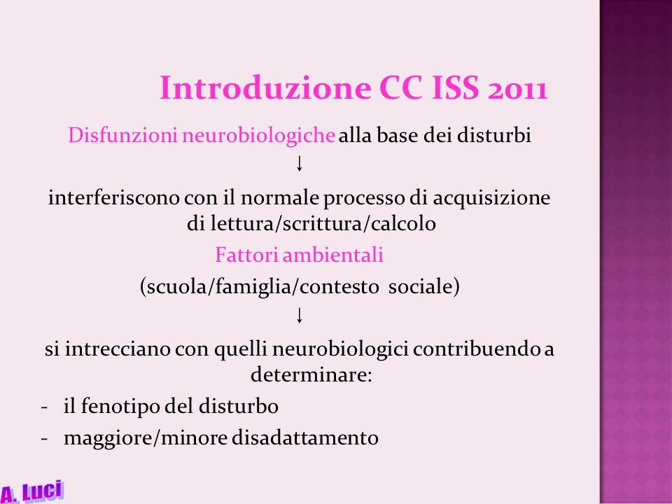 Introduzione CC ISS 2011 A. Luci