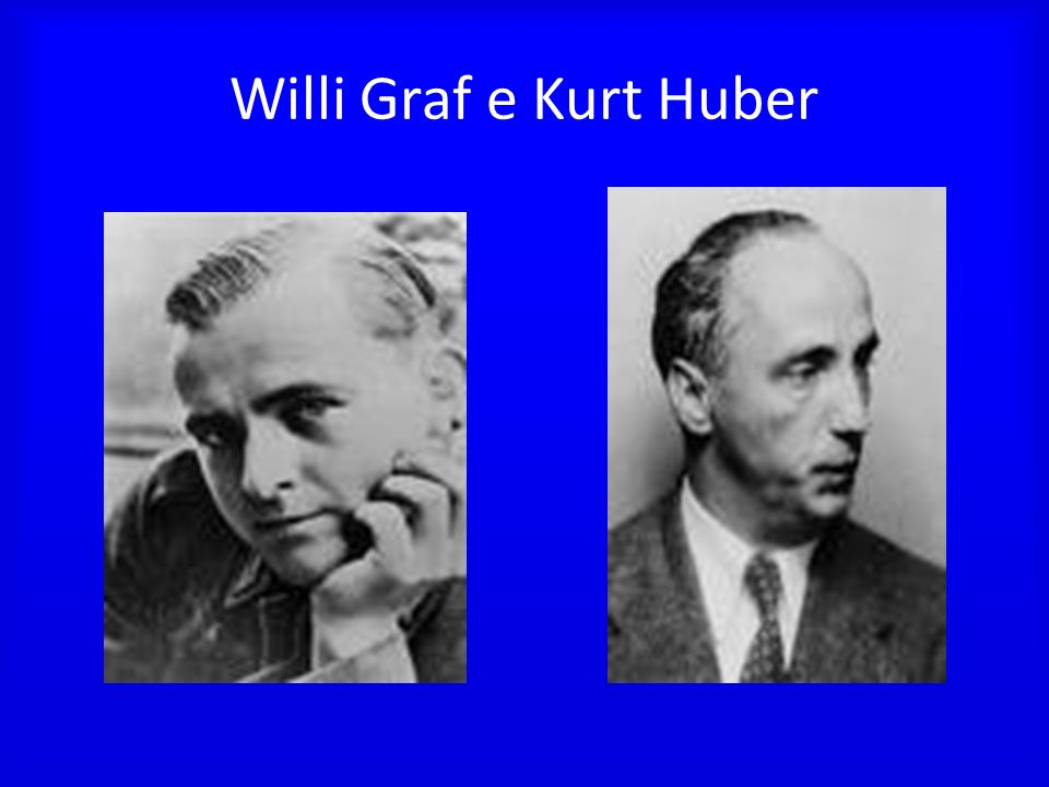 Willi Graf e Kurt Huber