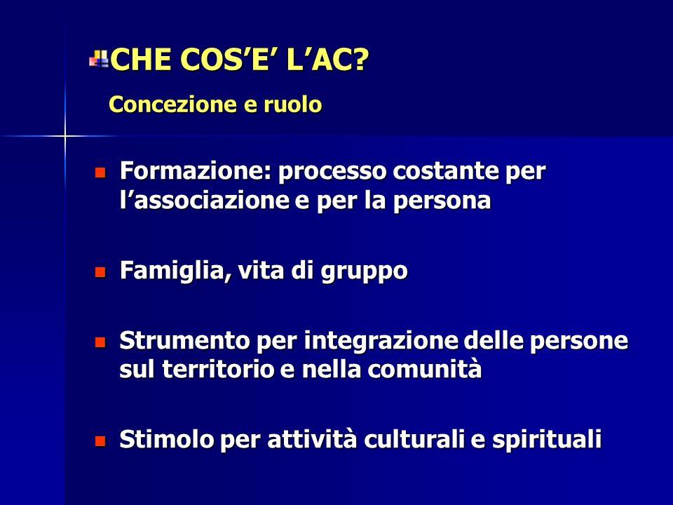 CHE COS'E' L'AC Concezione e ruolo