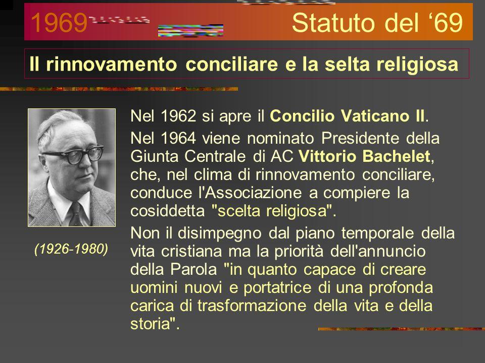 Il rinnovamento conciliare e la selta religiosa
