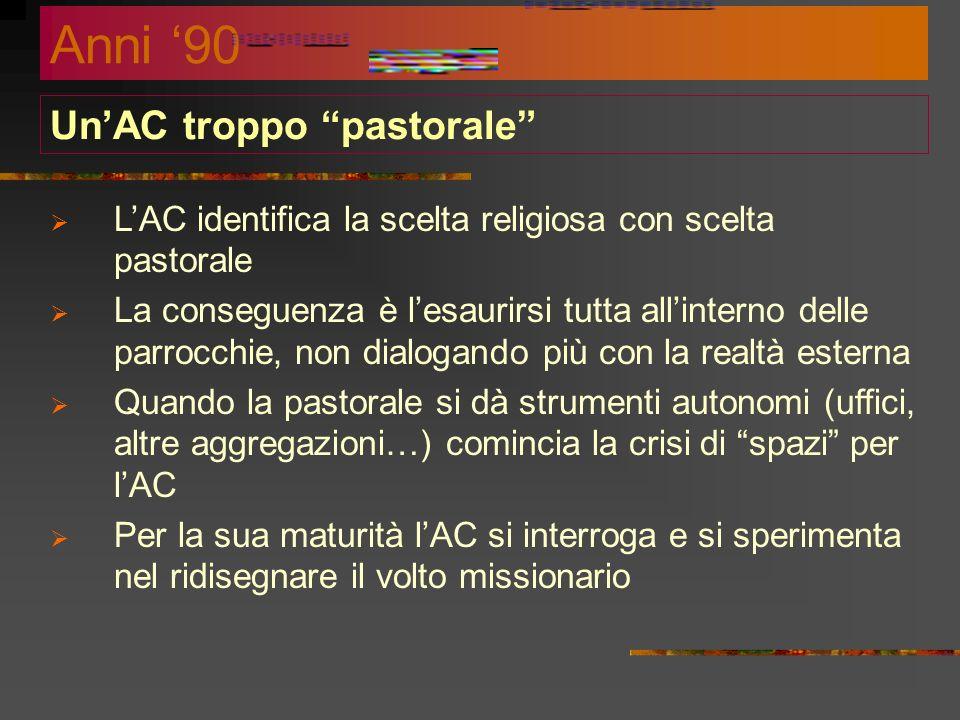 Un'AC troppo pastorale