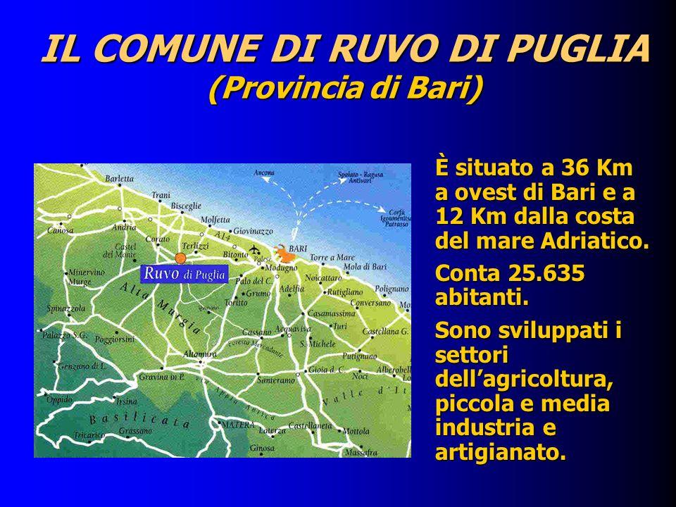 IL COMUNE DI RUVO DI PUGLIA (Provincia di Bari)
